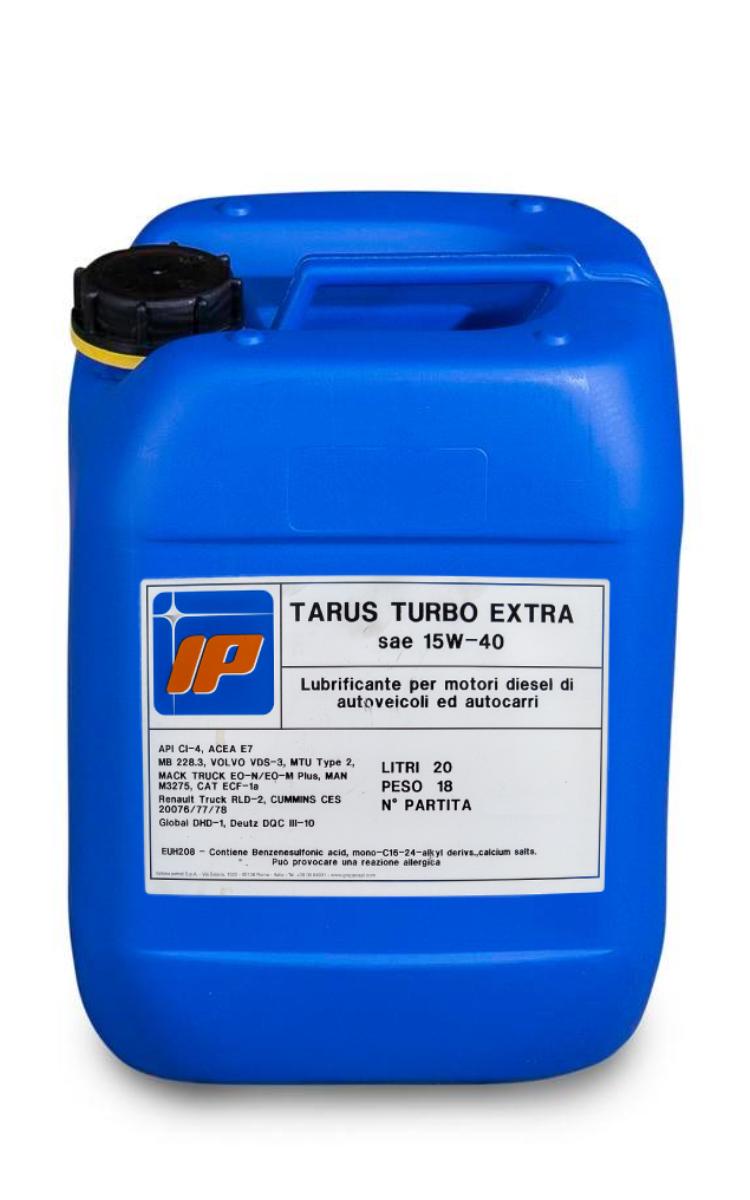 Моторно масло IP TARUS TURBO Extra 15W40 туба 20 литра
