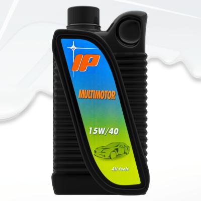 Моторно масло 15W40 IP Multimotor бутилка 1 литър