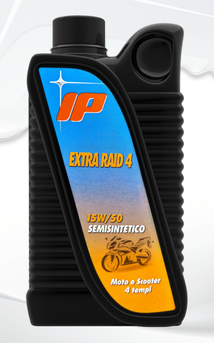 Полу-синтетично двигателно масло за мотор IP Extra Raid 4 15W50 бутилка 1 литър